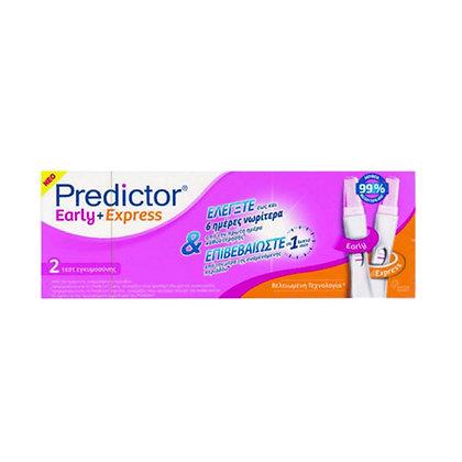 Predictor Early & Express, Διπλό Τέστ Εγκυμοσύνης 2τμχ