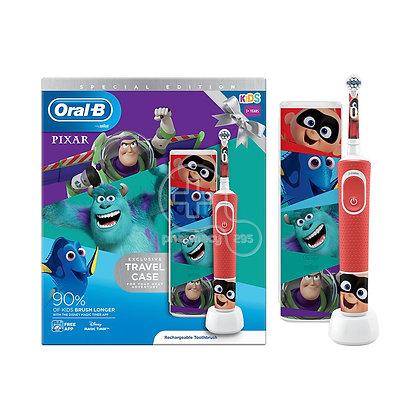 ORAL B - SPECIAL EDITION KIDS Ηλεκτρική Οδοντόβουρτσα Pixar 3+ & Travel Case