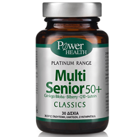 Power Health Classics Platinum Multi Senior 50+ Συμπλήρωμα Διατροφής 30 Κάψουλες