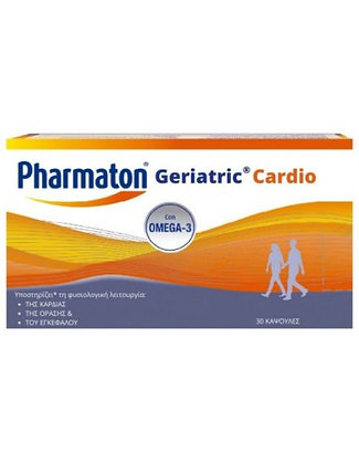 PHARMATON Geriatric Cardio with Omega-3, 30 Caps