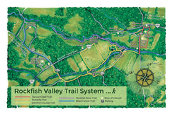 Rockfish Valley Trail Map