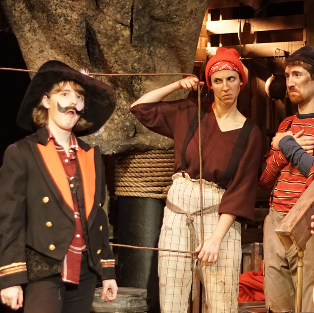 Peter and the Starcatcher, Fighting Prawn & Others, New York University, Dir. Amy Cordileone