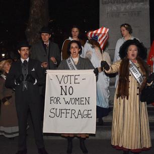 Hear Them Roar: The Fight for Women's Rights, Kate Douglas Wiggin, New York University, Dir. Nan Smithner