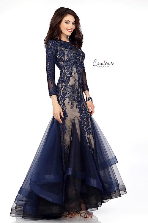 Envious Couture - BEADED LACE/TULLE  - 18013