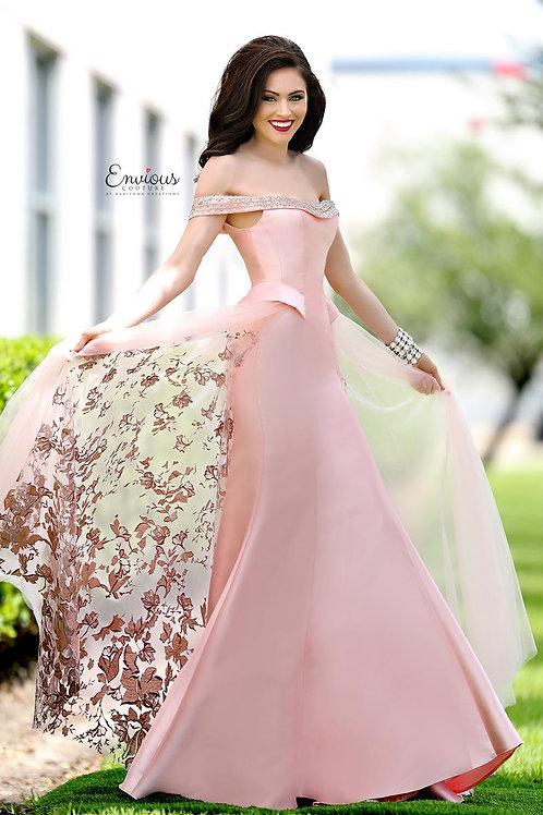 Envious Couture - BEADED MIKADO  - 18089