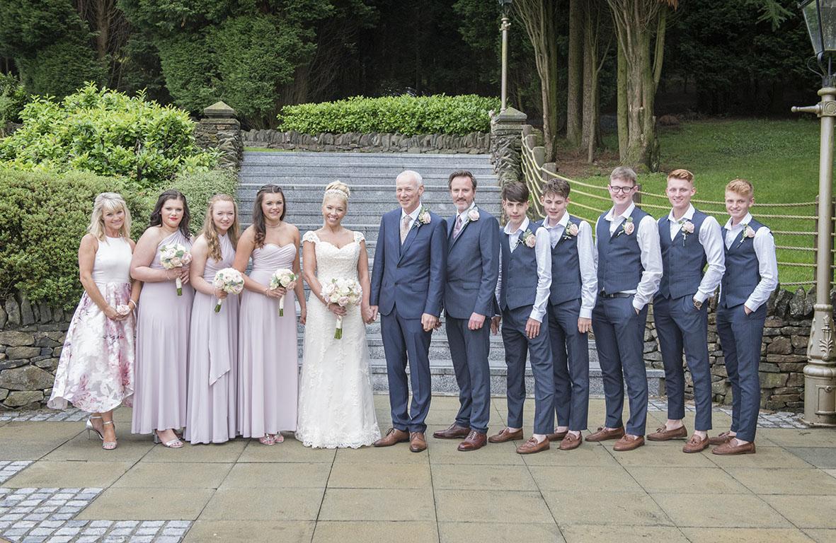 Saddleworth Hotel Wedding Photograph