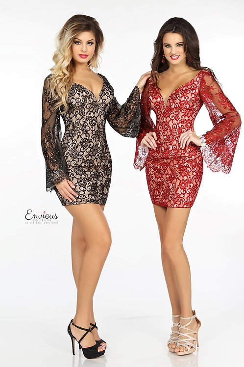 Envious Couture - BEADED LACE  - 18095