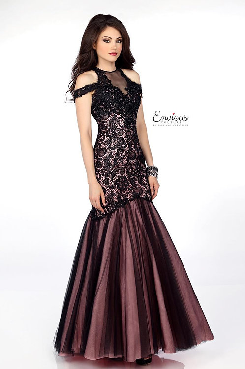 Envious Couture - BEADED LACE/TULLE  - 18007