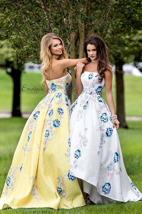 Envious Couture - PRINTED BROCADE  - 18001