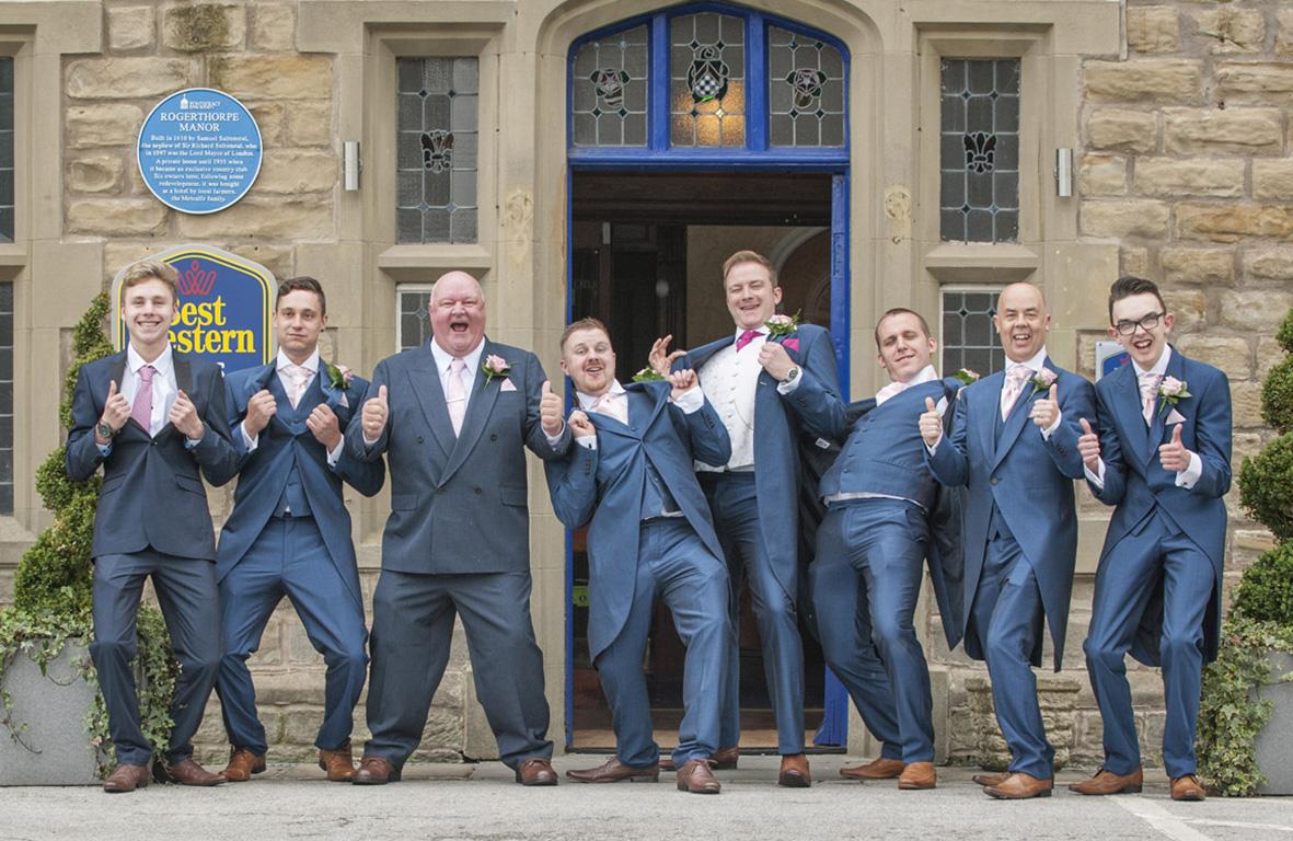 Rogerthorpe Manor Wedding Photo