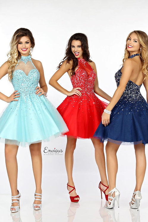 Envious Couture - BEADED TULLE  - 18103