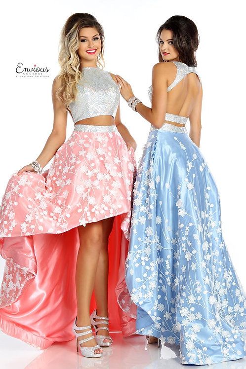 Envious Couture - SEQUINS/TULLE APPLIQUE  - 18052