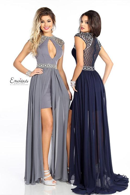 Envious Couture - BEADED CHIFFON  - 18012
