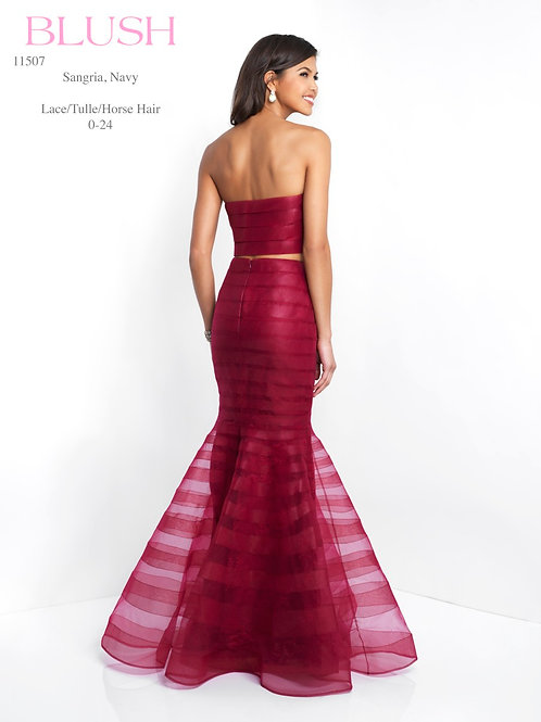 Blush/Lace/Tulle/Horse Hair - 11507