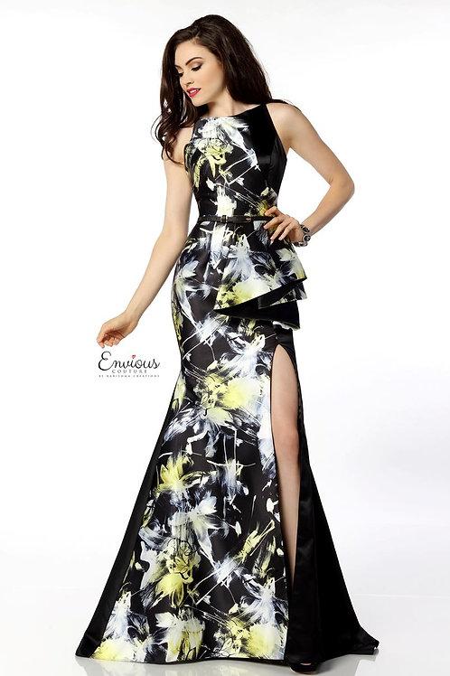 Envious Couture - PRINTED MIKADO - 18072