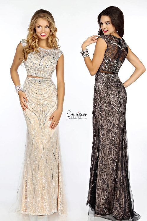 Envious Couture - BEADED LACE  - 18096