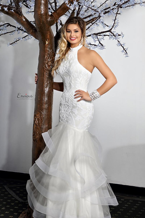 Envious Couture - SEQUINED TULLE   - 18034