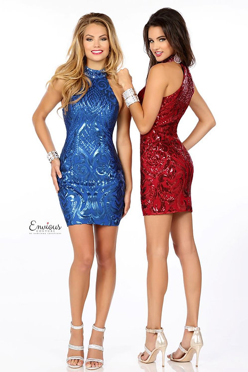 Envious Couture - SEQUINED TULLE   - 18133