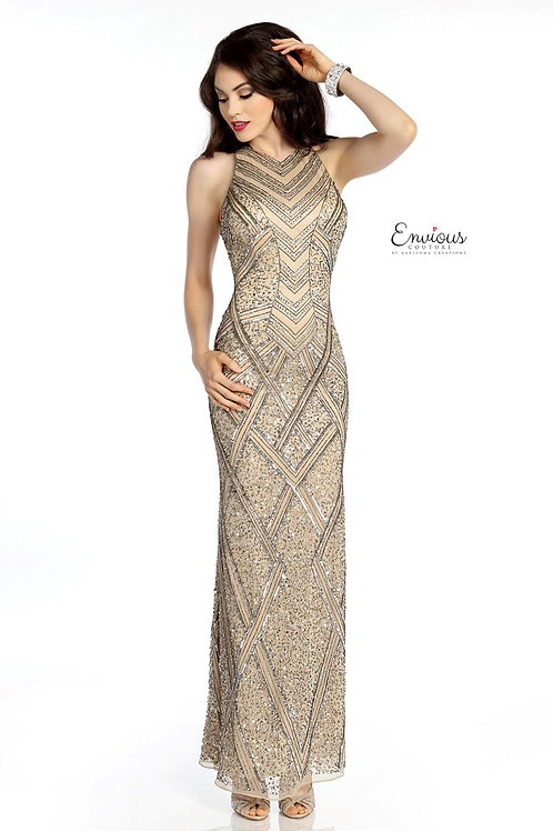 Envious Couture - SEQUINED TULLE  - 18063