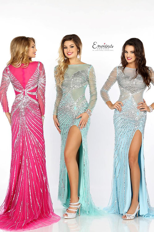 Envious Couture - SEQUINED TULLE  - 18069