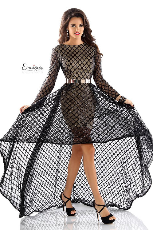 Envious Couture - SEQUINED TULLE - 18071