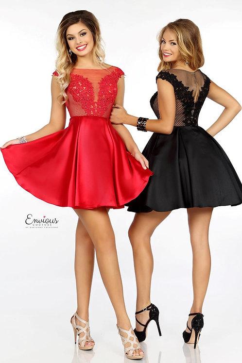 Envious Couture - BEADED TULLE/MIKADO  - 18067