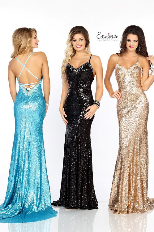 Envious Couture - BEADED SEQUINS   - 18058