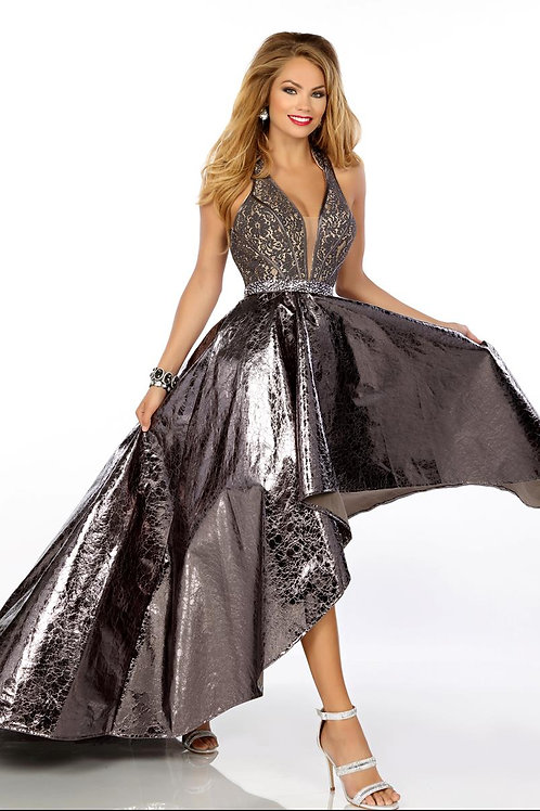 Envious Couture - BEADED LACE/FAUX LEATHER - 18164