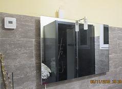Miroir chauffant à infrarouge Infranomic