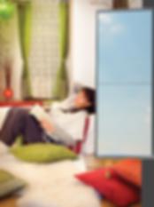 Installateur radiateur infrarouge, miroir chauffant, ACE-L