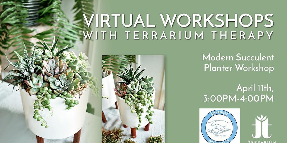 Modern Planter Workshop