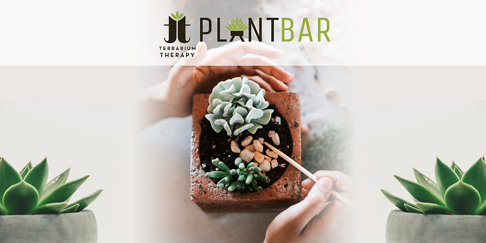 Pop-Up Plant Bar at The Odd Market at Upper Falls