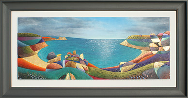 Shimmering Seas - Porthcurno