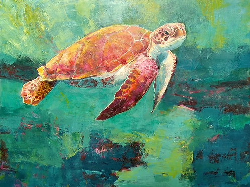 Pink Turtle  £995  SOLD