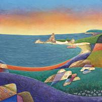 Sunset - Kynance Cove