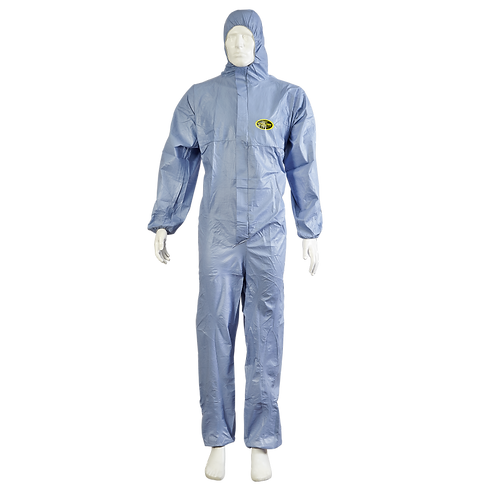 Overol descartable azul safetex STEELPRO 7770B