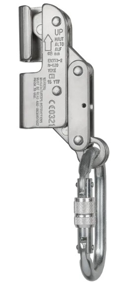 Deslizador para cable acero 10 mm & mosqueton (deca-et) STEELPRO