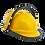 Thumbnail: Adaptador plástico porta visor para casco STEELPRO