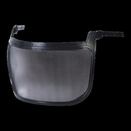 Visor de malla metálica adaptable a casco STEELPRO