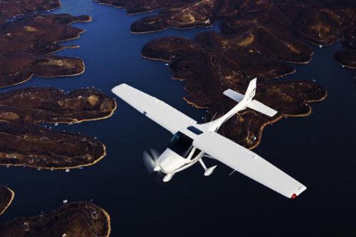 Falls Lake Airplane Tour - Up to 3 Passengers