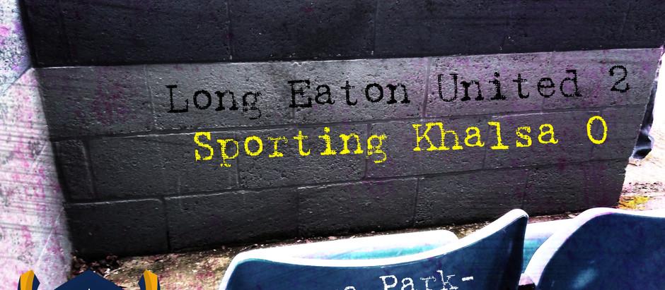 17/10/20 Review: Long Eaton United vs Sporting Khalsa