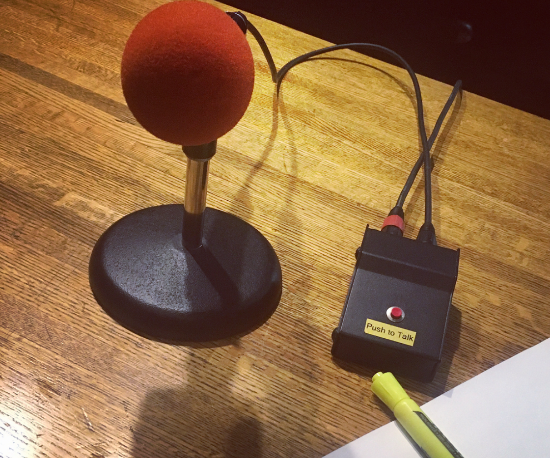 VO Recording Session