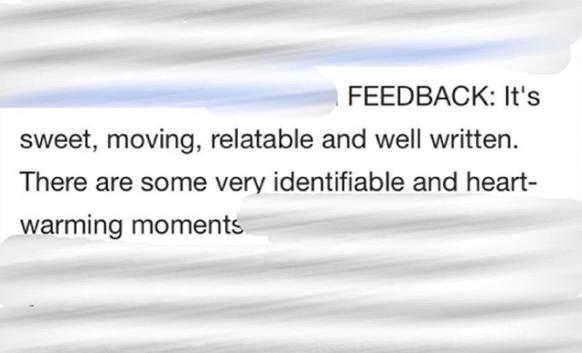 Ruthie feedback