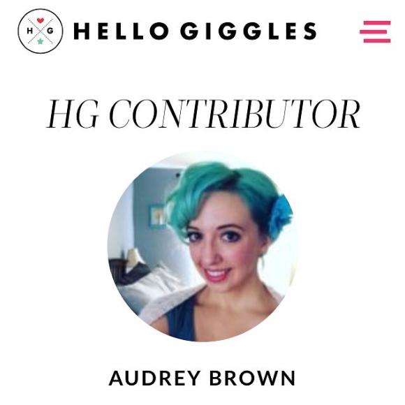 Hello Giggles contributor page