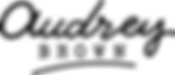 Audrey Brown - logo - black text.png