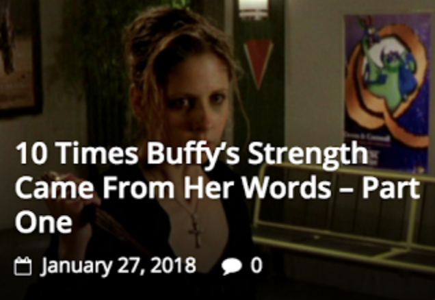 Buffy Takes the Hero's Journey