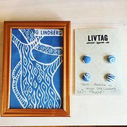 Knäppt va_ Men Stig Lindberg finns på mina knappar nu! #dalaliv #butikervidgruvan #knappar #tygklädd