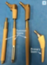 Implant stems