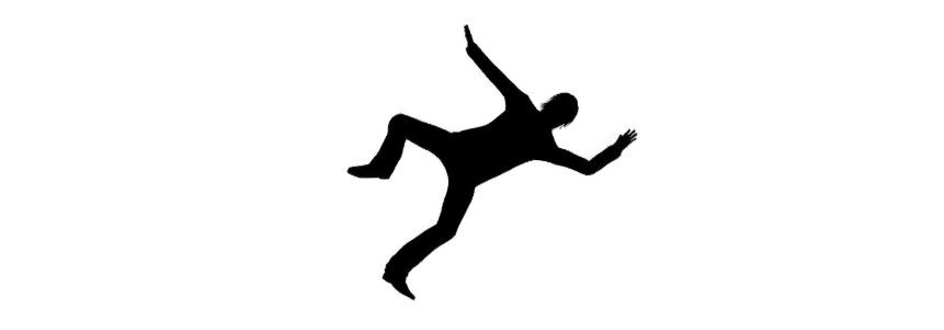 Picture of man falling