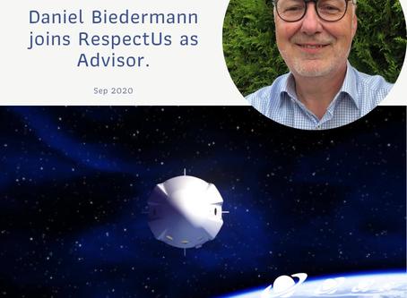 Daniel Biedermann new Advisor to RespectUs